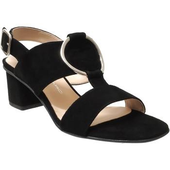 Schoenen Dames Sandalen / Open schoenen Brenda Zaro F3586 Velvet zwart