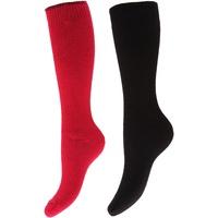 Accessoires Dames Sokken Floso  Roze/Zwart