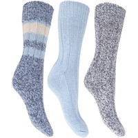 Accessoires Dames Sokken Floso  Blauw