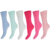 Accessoires Dames Sokken Floso  Roze/Blauwe tinten