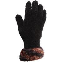 Accessoires Dames Handschoenen Floso  Zwart / Koper