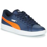 Schoenen Kinderen Lage sneakers Puma SMASH JR ME Marine