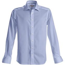 Textiel Heren Overhemden lange mouwen J Harvest & Frost Green Bow Hemelsblauw
