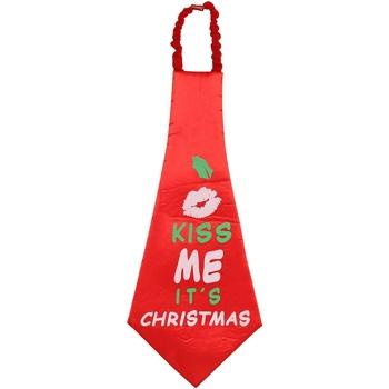 Textiel Stropdassen en accessoires Christmas Shop CS252 Rood