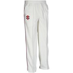 Textiel Kinderen Trainingsbroeken Gray-Nicolls GN10J Ivoor/Zwartel