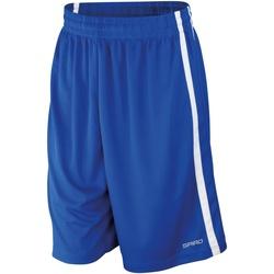 Textiel Heren Korte broeken / Bermuda's Spiro S279M Koninklijk/Wit