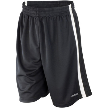 Textiel Heren Korte broeken / Bermuda's Spiro S279M Zwart/Wit