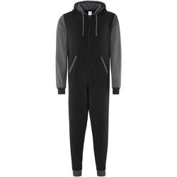 Textiel Jumpsuites / Tuinbroeken Comfy Co CC003 Zwarte Houtskool