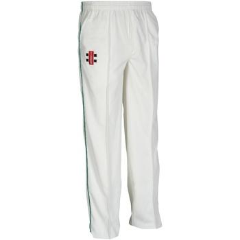 Textiel Kinderen Trainingsbroeken Gray-Nicolls GN10J Ivoor/Fles