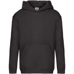 Textiel Kinderen Sweaters / Sweatshirts Fruit Of The Loom SS873 Zwart