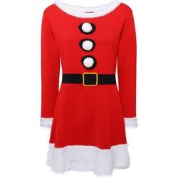 Textiel Dames Korte jurken Christmas Shop CS039 Rood