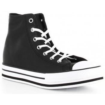 Schoenen Meisjes Hoge sneakers Converse CTAS PLATFORM EVA HI 666391C negro Noir