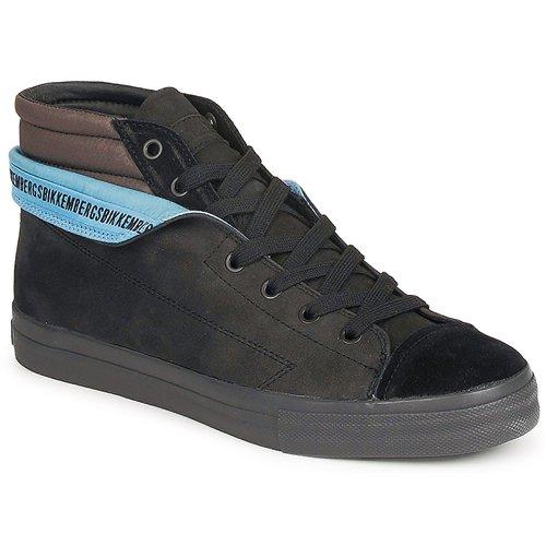 Schoenen Heren Hoge sneakers Bikkembergs PLUS MID SUEDE Zwart