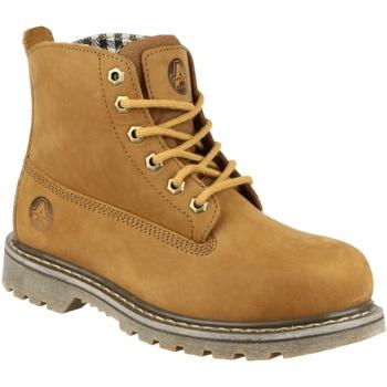 Schoenen Dames Laarzen Amblers FS103 Tabak