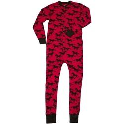 Textiel Pyjama's / nachthemden Lazyone  Rood/zwart