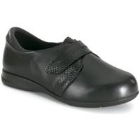 Schoenen Dames Mocassins Calzamedi ZACHTE HUID BLACK