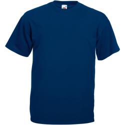 Textiel Heren T-shirts korte mouwen Universal Textiles 61036 Marine Oxford