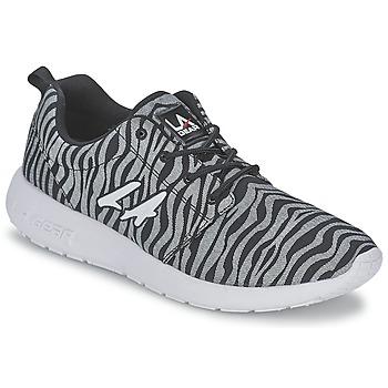 Schoenen Dames Lage sneakers L.A. Gear SUNRISE Grijs / Zwart