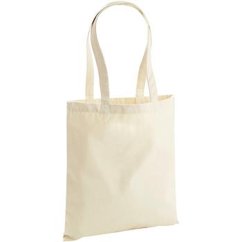 Tassen Tote tassen / Boodschappentassen Westford Mill W801 Natuurlijk