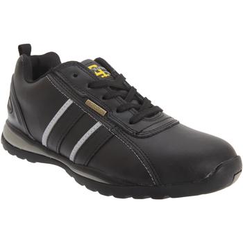 Schoenen Heren Lage sneakers Grafters  Zwart/Grijze Actie