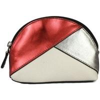 Tassen Dames Portemonnees Eastern Counties Leather  Rode folie/tinnen/wit