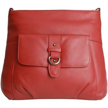 Tassen Dames Schoudertassen met riem Eastern Counties Leather  Rood