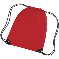 Tassen Kinderen Sporttas Bagbase BG10 Klassiek rood