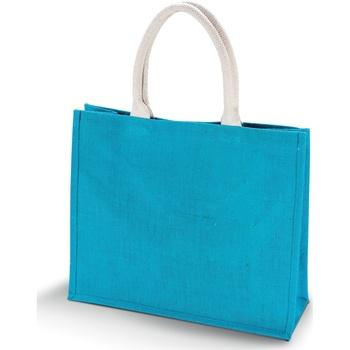 Tassen Dames Tote tassen / Boodschappentassen Kimood KI011 Turquoise