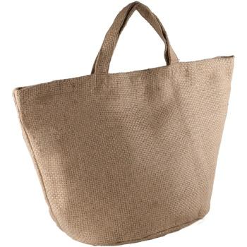 Tassen Dames Tote tassen / Boodschappentassen Kimood KI008 Natuurlijk/Natuurlijk