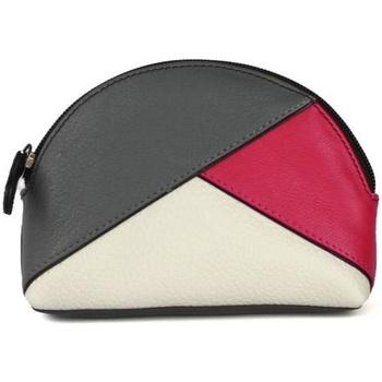 Tassen Dames Portemonnees Eastern Counties Leather  Grijs/Roze/Wit