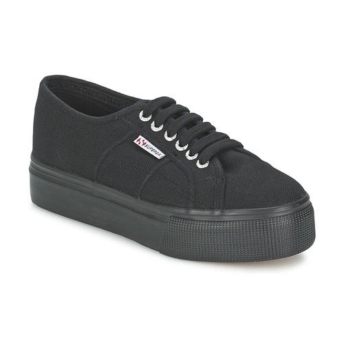 Schoenen Dames Lage sneakers Superga 2791 COTEW LINEA Zwart