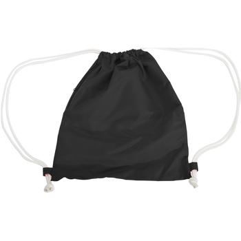 Tassen Kinderen Sporttas Bagbase BG110 Zwart