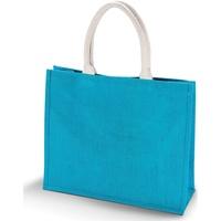 Tassen Dames Tote tassen / Boodschappentassen Kimood  Turquoise