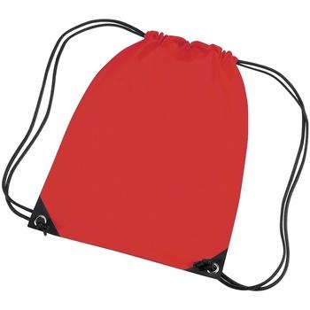 Tassen Kinderen Sporttas Bagbase BG10 Helder rood