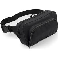 Tassen Heren Heuptassen Bagbase BG053 Zwart