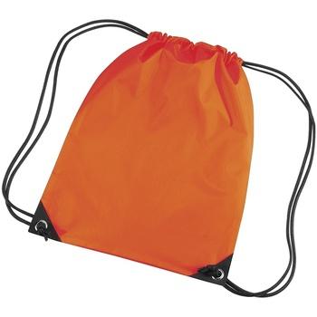 Tassen Kinderen Sporttas Bagbase BG10 Oranje