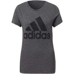 Textiel Dames T-shirts korte mouwen adidas Originals Must Haves Winners T-shirt Zwart