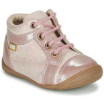 Schoenen Meisjes Laarzen GBB OMANE Roze