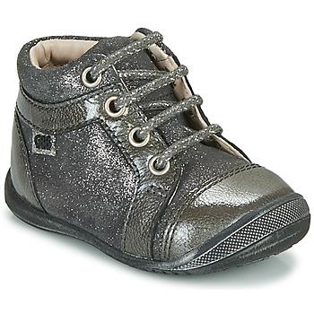 Schoenen Meisjes Laarzen GBB OMANE Grijs