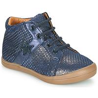 Schoenen Meisjes Hoge sneakers GBB DUANA Blauw