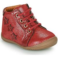 Schoenen Meisjes Hoge sneakers GBB DAVIA Rood