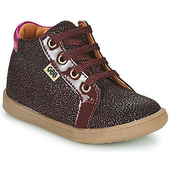 Schoenen Meisjes Hoge sneakers GBB FAMIA Bordeau