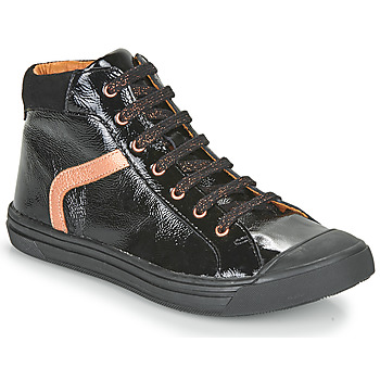 Schoenen Meisjes Hoge sneakers GBB VIVENA Zwart
