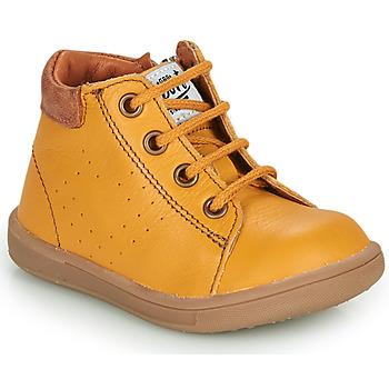 Schoenen Jongens Laarzen GBB FOLLIO Geel