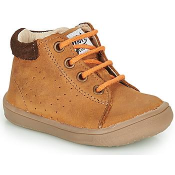 Schoenen Jongens Laarzen GBB FOLLIO Bruin