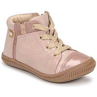 Schoenen Meisjes Hoge sneakers GBB OUNA Roze