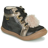 Schoenen Meisjes Hoge sneakers GBB ISAURE Zwart