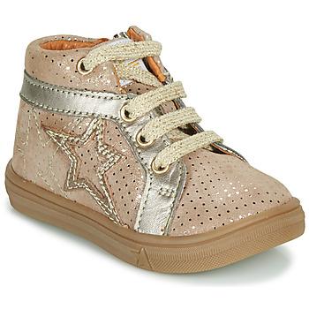 Schoenen Meisjes Hoge sneakers GBB NAVETTE Beige