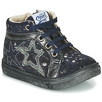 Schoenen Meisjes Hoge sneakers GBB NAVETTE Blauw