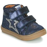 Schoenen Meisjes Hoge sneakers GBB OHANE Blauw